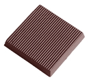 Chocolate World CW2360 Chocolate mould caraque striped
