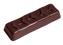 Chocolate World CW2362 Chocolate mould enrobed bar large