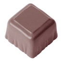 Chocolate World CW2368 Chocolate mould cuvette square
