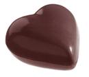 Chocolate World CW2383 Chocolate mould heart 7, 5 gr
