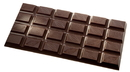 Chocolate World CW2398 Chocolate mould tablet cocoa bean