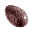 Chocolate World E7002-135 Chocolate mould egg croco 135 mm