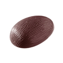 Chocolate World E7003-135 Chocolate mould egg bark 135 mm