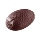 Chocolate World E7003-150 Chocolate mould egg bark 150 mm