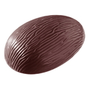 Chocolate World E7003-290 Chocolate mould egg barc 290 mm