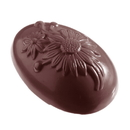 Chocolate World E7005-135 Chocolate mould egg ox-eye 135 mm