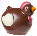 Chocolate World HM009 Chocolate mould magnetic chicken 130 mm