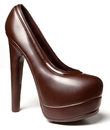 Chocolate World HM012 Chocolate mould magnetic ladies shoe 170 mm