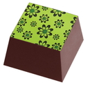Chocolate World L6161D4 Transfers Green Flower