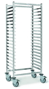 Chocolate World M1242 Trolley for grilles of 600 x 400 mm opening on 600 mm