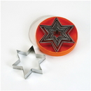 Chocolate World S02006 Set of pastry cutters star