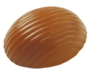 Chocolate World SI8023 Silicone mould egg striped - 2x3 cc