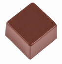 Chocolate World SI8110 Silicone mould square  - 9 cc