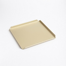 Chocolate World SIL9024 Tray 170 x 170 mm color champagne