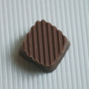 Chocolate World SS007M Stripes in struc. 360 x 340 mm