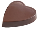 Chocolate World T0033 Vivak heart plain 170 mm