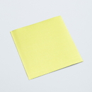 Chocolate World VAGE Aluminium sheets 80 x 80 mm Yellow