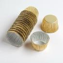 Chocolate World VC0101 Aluminium cups gold (1250 pcs)