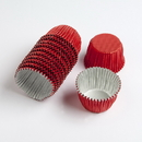 Chocolate World VC0102 Aluminium cups red (1250 pcs)