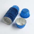 Chocolate World VC0103 Aluminium cups blue (1250 pcs)