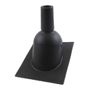312 Perma-Boot: Black 2-Inch Pipe Gasketless Pipe Boot With Flange