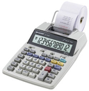 Sharp El-1750V - Printing Calculator - Lcd - 12 Digits - Battery, Ac Adapter, SHREL1750V