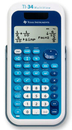Texas Instruments Ti-34 Multiview - Scientific Calculator - Solar Panel, Battery, TEXTI34MV