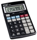 Victor 1180-3A - Financial Calculator - 12 Digits - Solar Panel, Battery - Black, VCT1180-3A