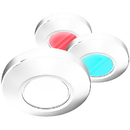 i2Systems Profile P1120 Tri-Light Surface Light - Red, White, Blue Light, White Finish