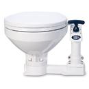 Jabsco Manual Marine Toilet - Regular Bowl w/Soft Close Lid