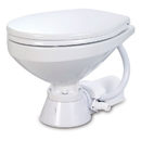 Jabsco Electric Marine Toilet - Regular Bowl w/Soft Close Lid - 12V