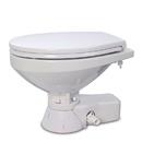 Jabsco Quiet Flush Freshwater Toilet - Compact Bowl - 12V