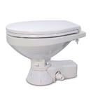 Jabsco Quiet Flush Raw Water Toilet - Compact Bowl - 12V
