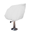 Taylor Made Helm/Bucket/Fixed Back Boat Seat Cover - Vinyl White