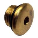 Uflex Brass Plug w/O-Ring for Pumps