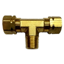 Uflex 1/4 NPT to 3/8 T-Fitting