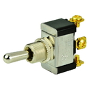 BEP SPDT Chrome Plated Toggle Switch - (ON)/OFF/(ON)