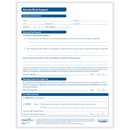 ComplyRight A0147PK25 Employee Remote Work Request Form, 8.5