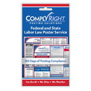 ComplyRight CRPS01 Federal And State (English) - Poster Service (1 Year)