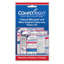 ComplyRight CRPS05 Federal (Bilingual) And State (English) Labor Law Poster Set