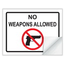 ComplyRight E6005 State Weapons Law Poster Cling - (Excludes Ar, Il, Ks, Mn, Ms, Mo, Ne, Sc, Tn, Tx & Dc)