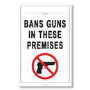 ComplyRight E8077MN Weapons Law Poster - Minnesota