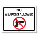 ComplyRight E8077NC Weapons Law Poster - North Carolina