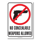 ComplyRight E8077SC Weapons Law Poster - South Carolina