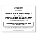 ComplyRight ECT0001 Ct Prevailing Wage Law Poster