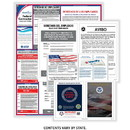 ComplyRight EFEDFCCRS Fed Contractor - Construction (Spa) - Poster Kit