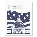 ComplyRight PEB28 Patriotic Flag & Capitol Envelope
