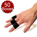 GOGO Wholesale 50 Boxes - 10 pcs/box Finger Brace, Finger Band Protector for Basketball, High-elastic