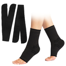GOGO 2Pack Ankle Brace Compression Socks with Adjustable Straps for Plantar Fasciitis Supports