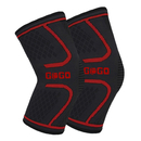 GOGO 2 Packs Knee Brace Compression Sleeve Support for Sports, Joint Pain Relief Recovery Wrap Band